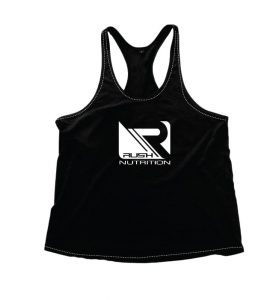 Rush - Black Stringer Vest  @ RR299