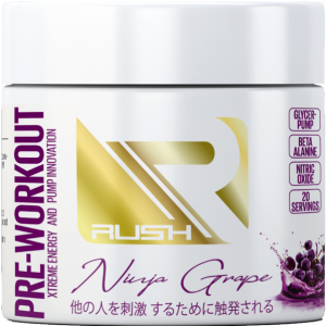 Rush Pre-Workout (Ninja Grape)