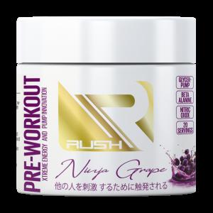 Rush Pre-Workout (Ninja Grape)